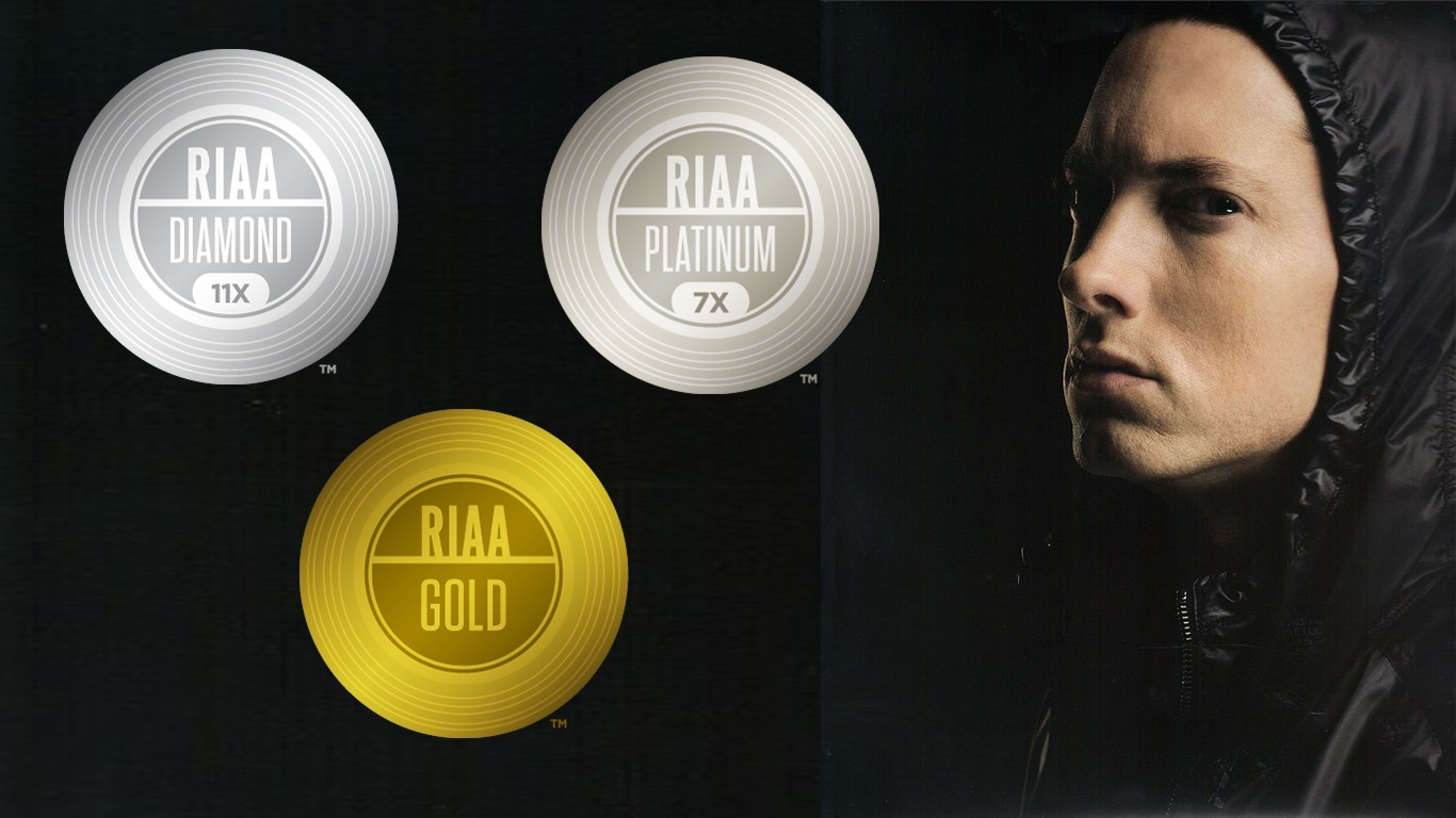 eminem-riaa-certifications-awards