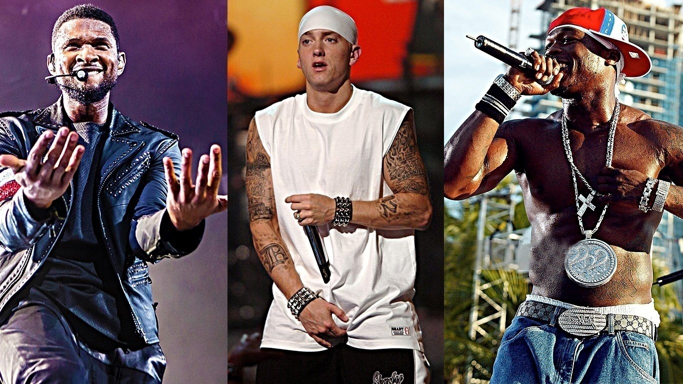 eminem-usher-50-cent-best-selling-artists-of-decade