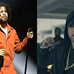 "J. Cole Reacts to Eminem's ""The Storm"" Freestyle at BET Hip-Hop Awards 2017"