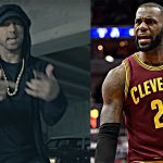 "LeBron James Reacts to Eminem's ""The Storm"" Freestyle at BET Awards 2017"